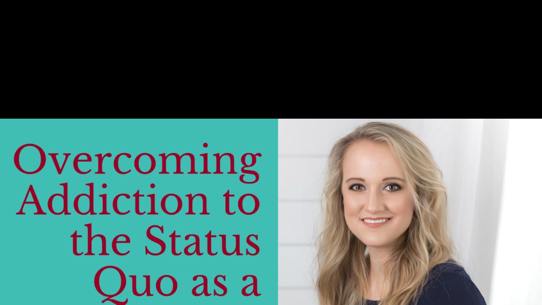 "Atlanta Bar Association Wellness Week Presentation: ""Overcoming Addiction to the Status Quo as a Lawyer"""