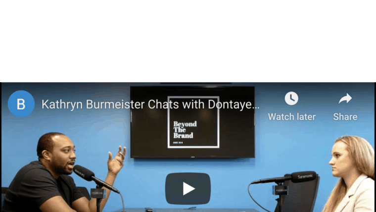 Dontaye Carter Of Carter Media Group Interview: Beyond The Brand Podcast